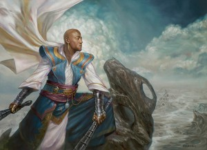 The new face of Teferi, Mage of Zhalfir